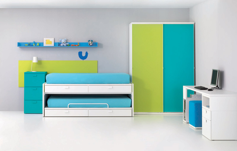 10 good kids room layout ideas digsdigs - Kids bedrooms for ...