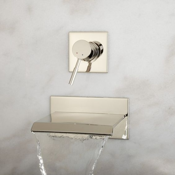 Picture Of kitchen and bathroom trend flowing faucets  13