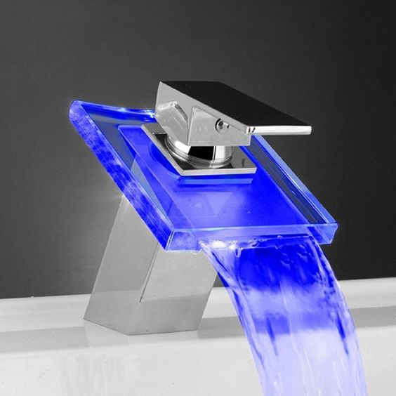 Picture Of kitchen and bathroom trend flowing faucets  14