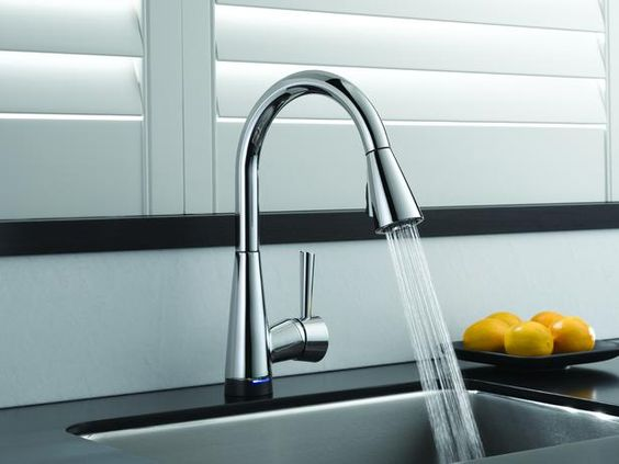 Picture Of kitchen and bathroom trend flowing faucets  22