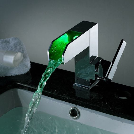 Picture Of kitchen and bathroom trend flowing faucets  28