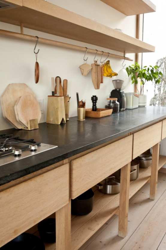 Kitchen Design With Norwegian And Japanese Details In Decor Digsdigs