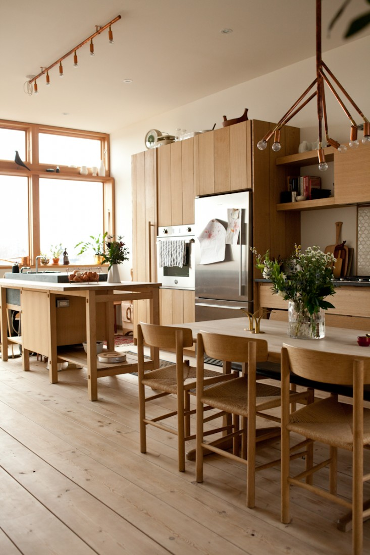 Kitchen design with norwegian and japanese details in for Kitchen wood design