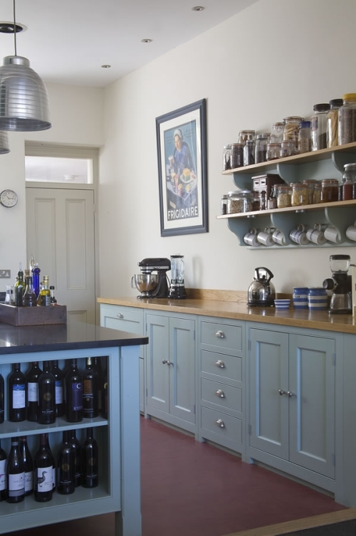 Kitchen Designed In Modern Victorian Style Digsdigs