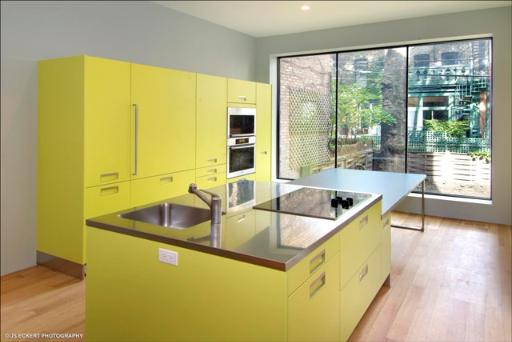 The simplest way to design a kitchen isle is simply to use the same cabinets as you're using  for other kitchen parts.
