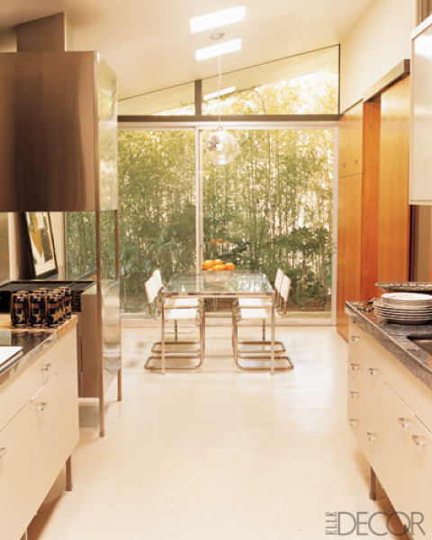 Kitchen That Opens Into A Garden