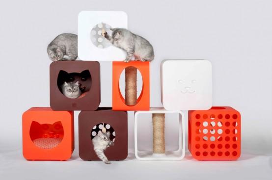 Kitty Kasa Housing Module For Cats