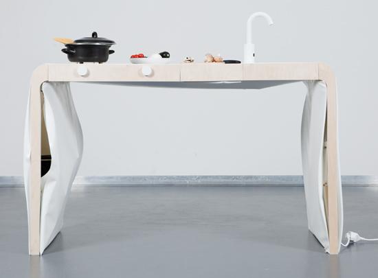 Kleine Kuche Kitchen Unit