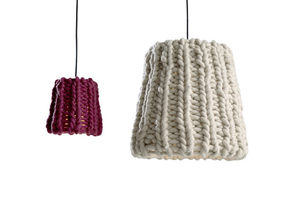 Knitted Pendant Lamp – Granny by Casamania