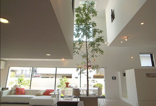 House with 9 cars garage and lamborghini in the living - Casas japonesas modernas ...