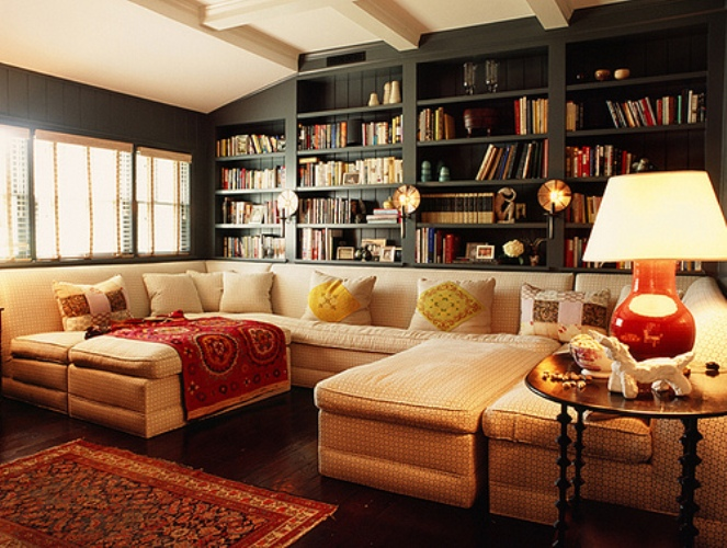 Living Rooms In Mixture Of Traditional and Modern Styles