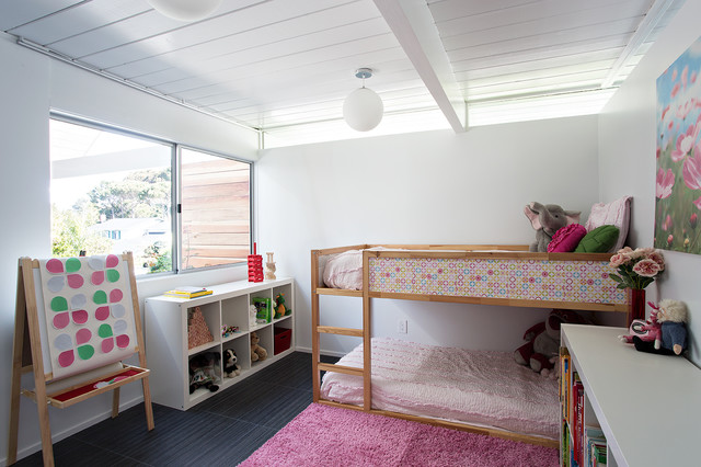 New kura loft bed is perfect for mid ceuntury kids bedrooms