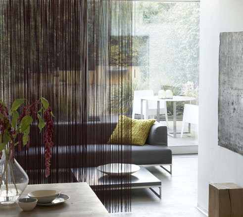 5 Sliding Panel Window Treatments That Acts as Room Dividers Too