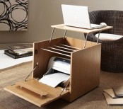 Laptop Cabinet And Desk