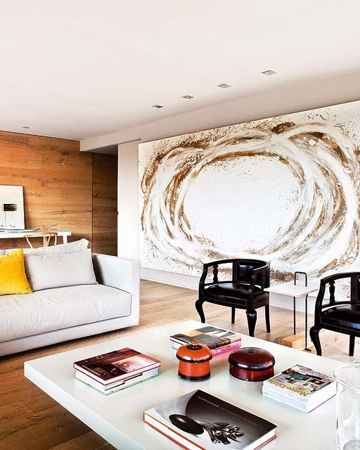 The Latest Décor Trend: 31 Large Scale Wall Art Ideas