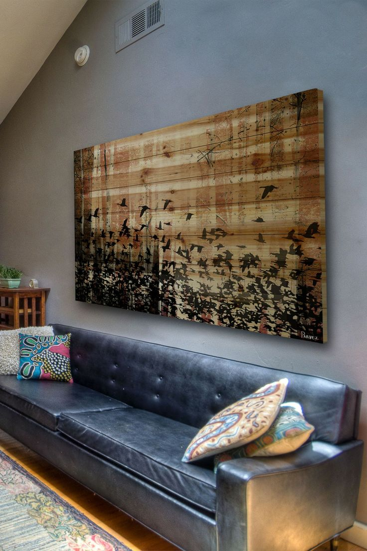 The Latest D?cor Trend: 31 Large Scale Wall Art Ideas ...