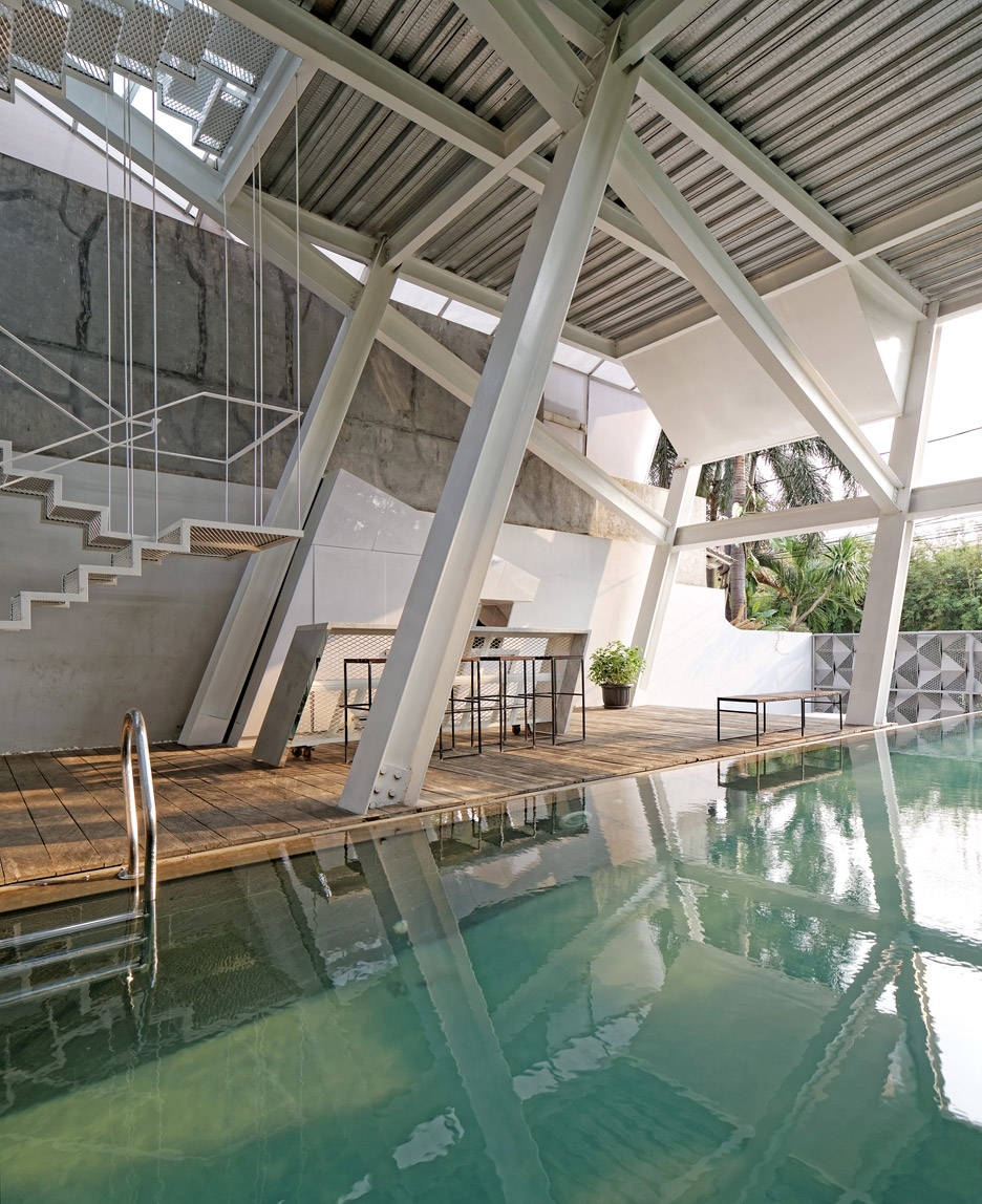 Picture Of leaning rumah miring house with minimalist decor  2