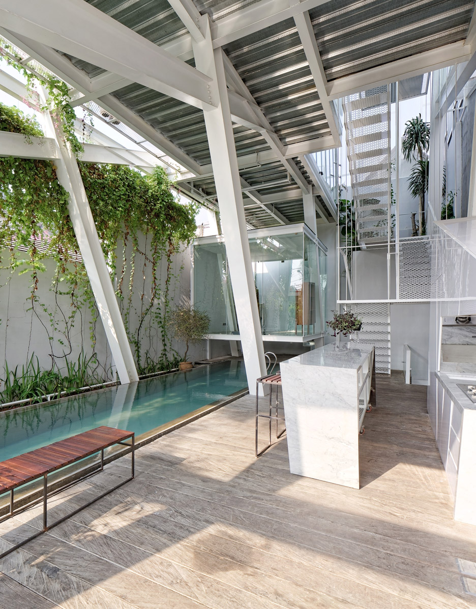 Picture Of leaning rumah miring house with minimalist decor  4
