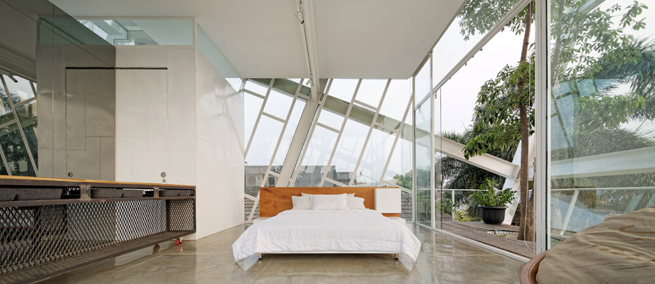 Picture Of leaning rumah miring house with minimalist decor  6