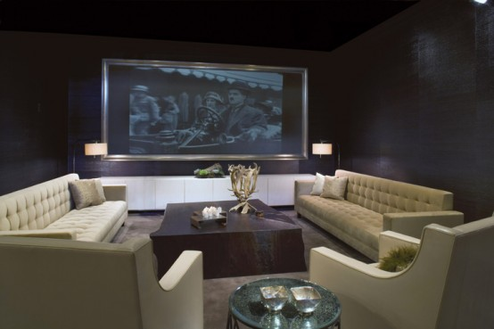 Media Room designed by Gary Lee