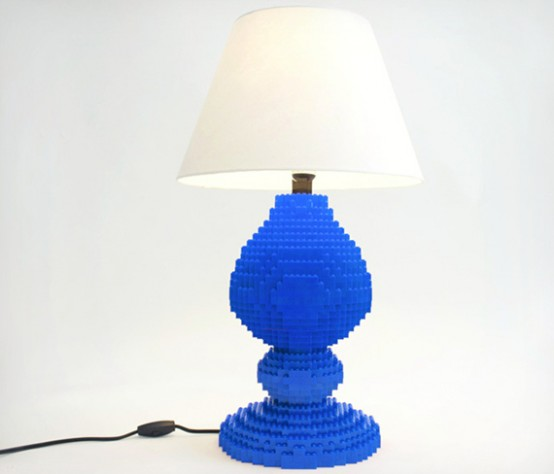 Stunning Lego Table Lamp To Realize Children us Dreams