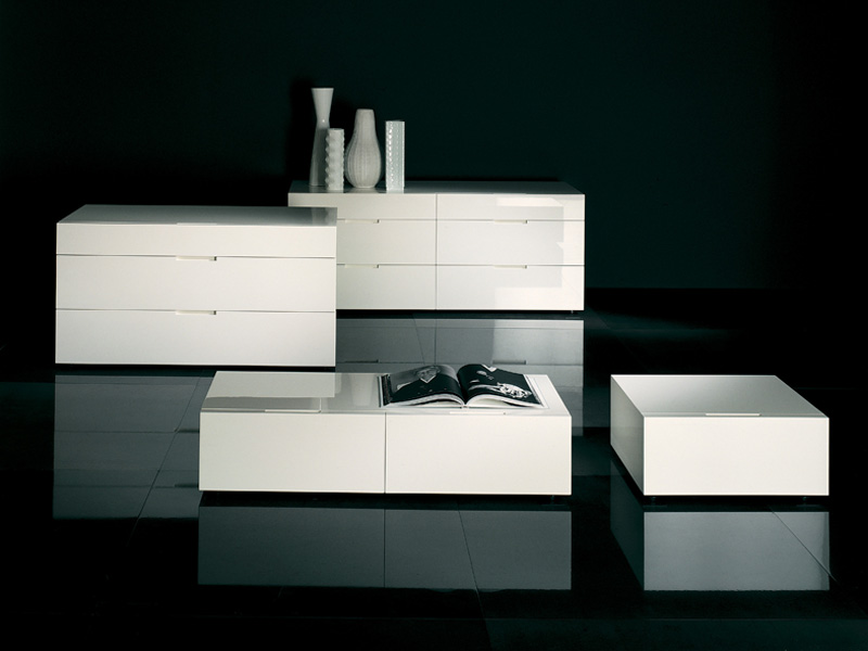 Minimalist Nightstand and Dressers – Flin from Lema