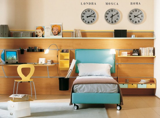 Kids Bedroom from Letti Tessili collection