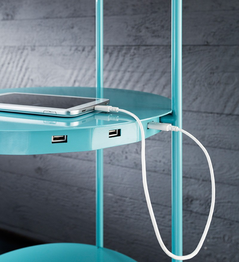 LEVEL: Shelf, Lamp And Device Recharger In One