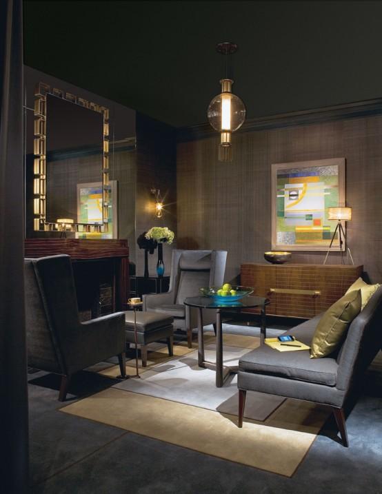 Home office designed by Douglas Levine