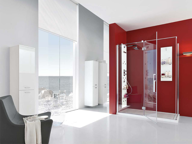 Contemporary Shower Enclosures - Life from Area Bagno - DigsDigs
