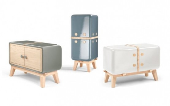 Limited Collection Of Ceramic Furniture