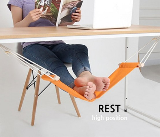 Little Fuut Hammock For Relaxing At Your Workplace