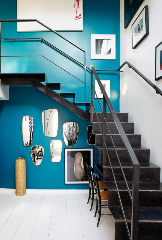 Lively Eclectic House With A Cool Use Of Colors