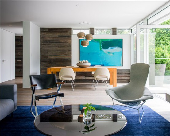 Lively Modern Vancouver Home With Bright Accents