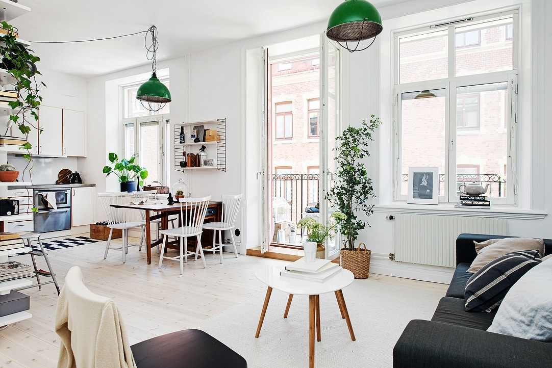 Lively Scandinavian Apartment Of Just 40 Square Meters