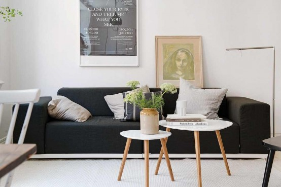 Lively Scandinavian Apartment Of Just 40meters