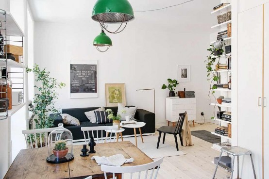 Lively Scandinavian Apartment Of Just 40 Square Meters Digsdigs