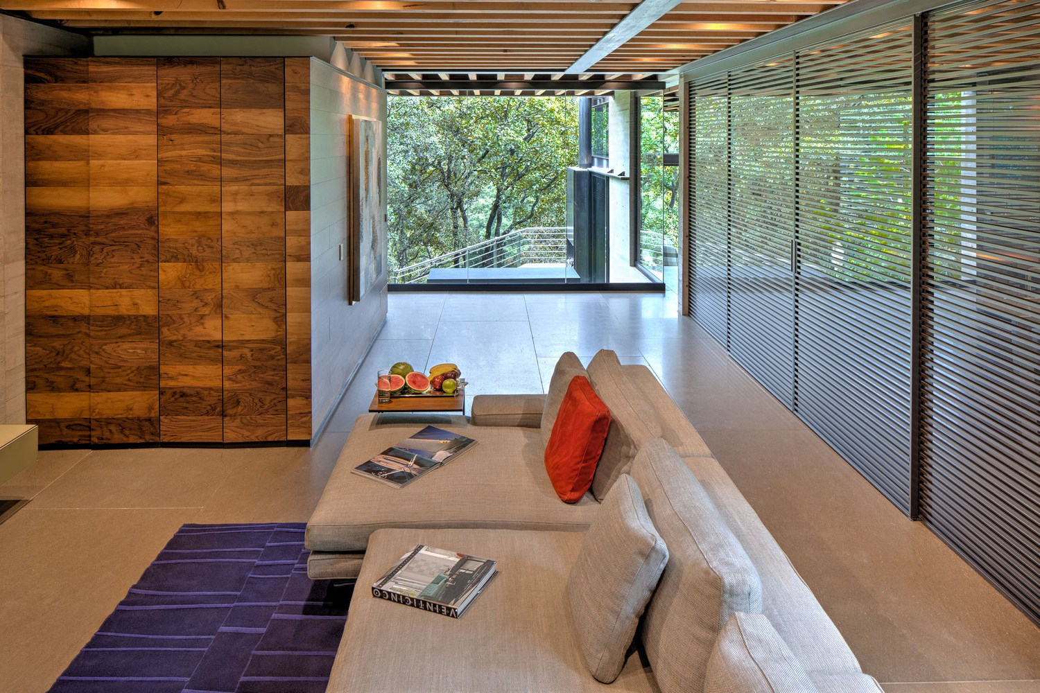 Picture Of living amidst the forest glazed tepozcuautla house  2
