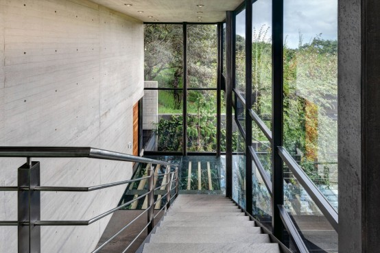 Living Amidst The Forest: Glazed Tepozcuautla House