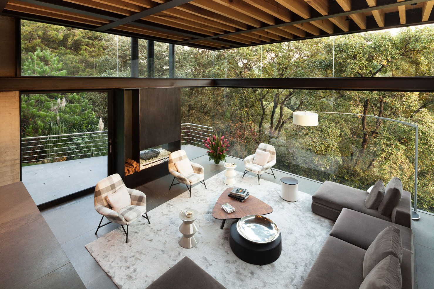 Picture Of living amidst the forest glazed tepozcuautla house  6