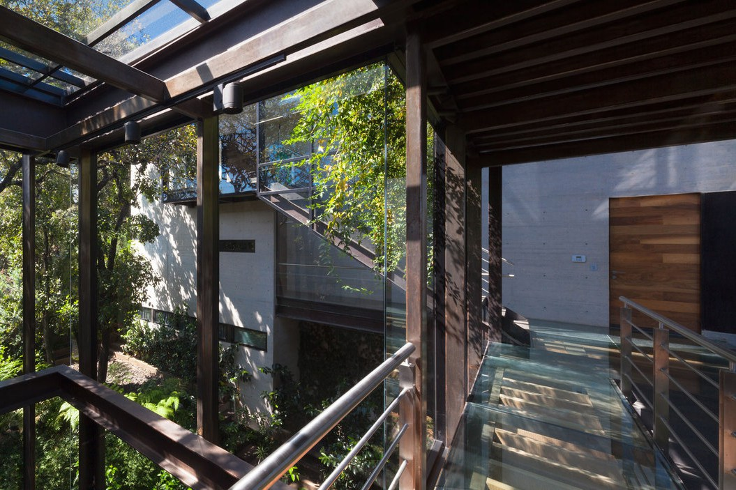 Picture Of living amidst the forest glazed tepozcuautla house  7