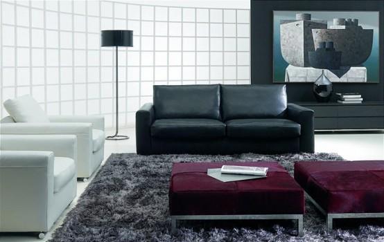 living room natuzzi bernard