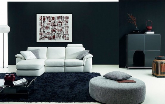 living room natuzzi java