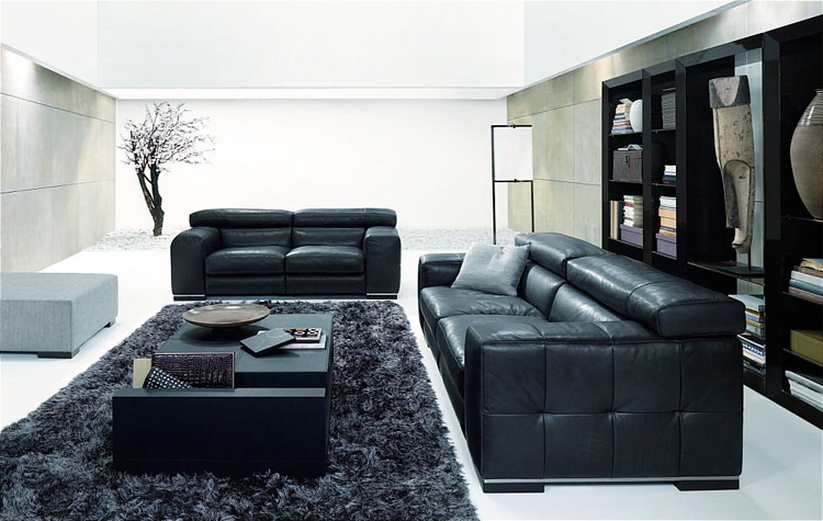 living room natuzzi nicolaus new - Italian Living Room Collections