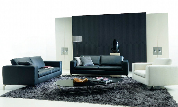 Black And White Living Rooms Digsdigs