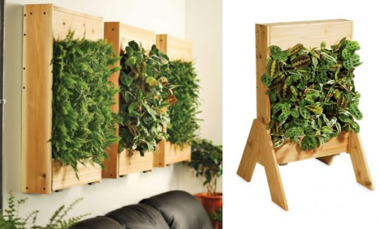 10 examples of modern green furniture digsdigs - Como hacer jardines verticales ...