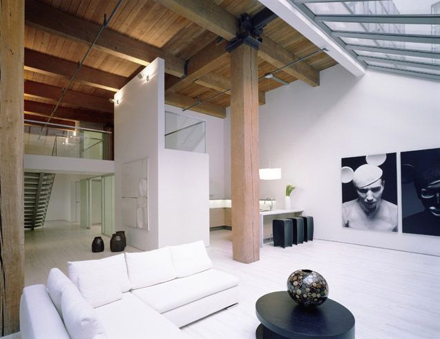 Ultimate Bachelor Loft In A Remodeled Warehouse DigsDigs