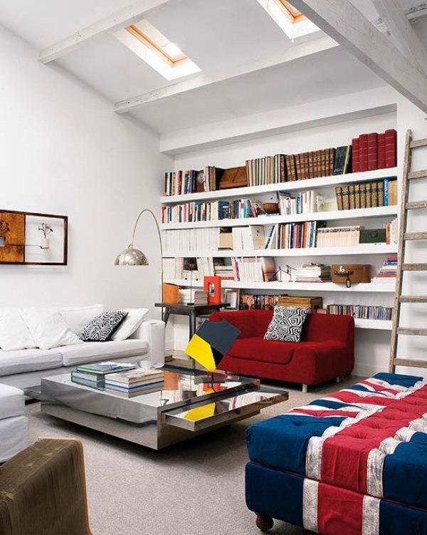 Loft In Fusion Of Styles Looking Like An Artwork