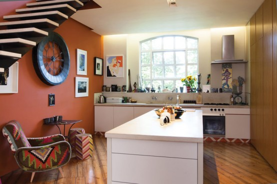 London House In A Crazy Mix Of Colors Patterns And Styles