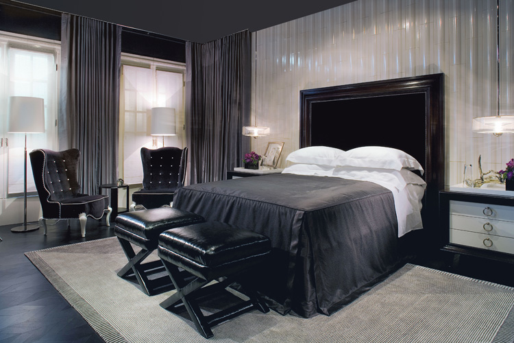 Ultimate dark interior inspiration digsdigs for Bedroom ideas dark grey